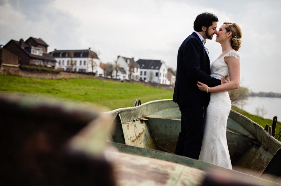 Bruiloft thuis in Eijsden – Trouwfotograaf Zuid-Limburg – Paul & Veronique