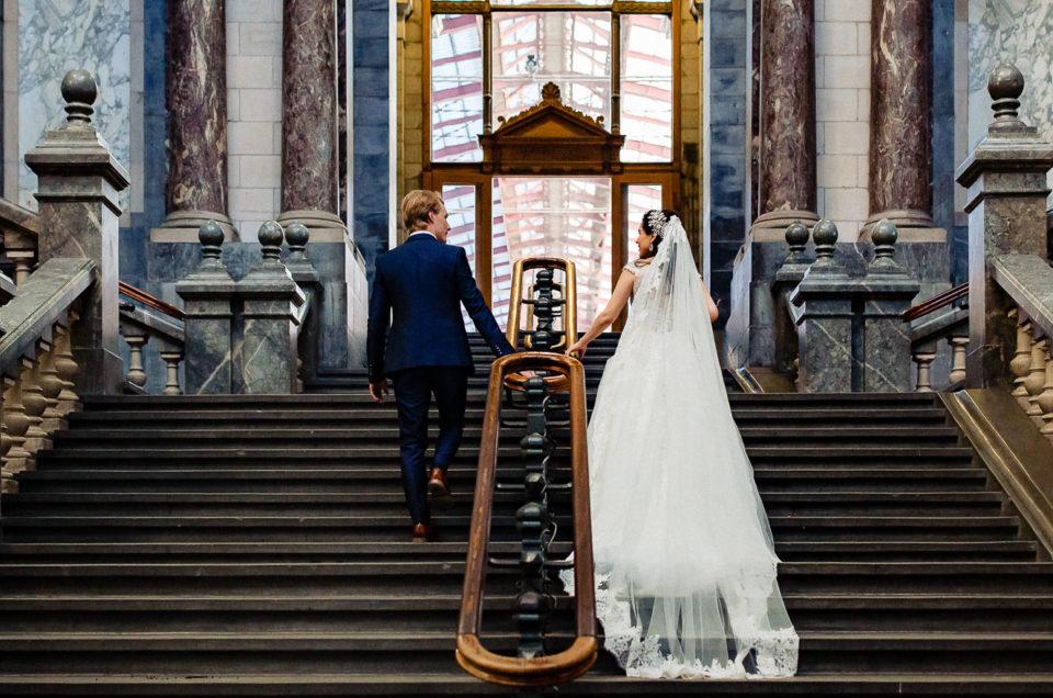 Bruiloft Joshua en Hediel – Hilton Old Town Antwerpen – Trouwfotograaf België