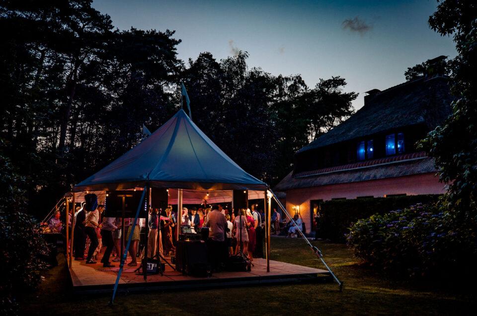 Belgische Tomorrowland tuinbruiloft in Antwerpen