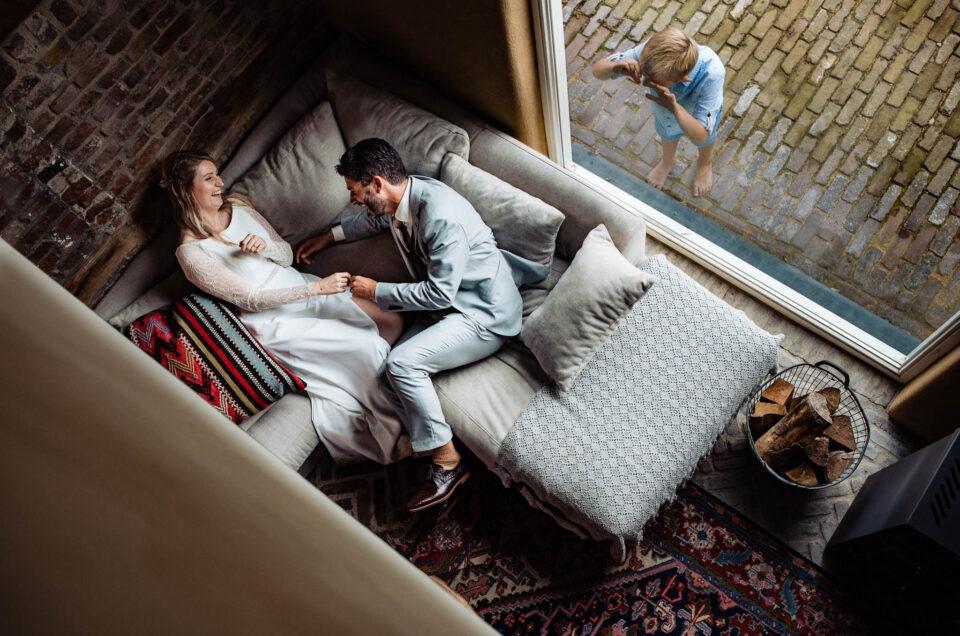 Intieme bruiloft bij Hoeve Hurpesch in Mechelen